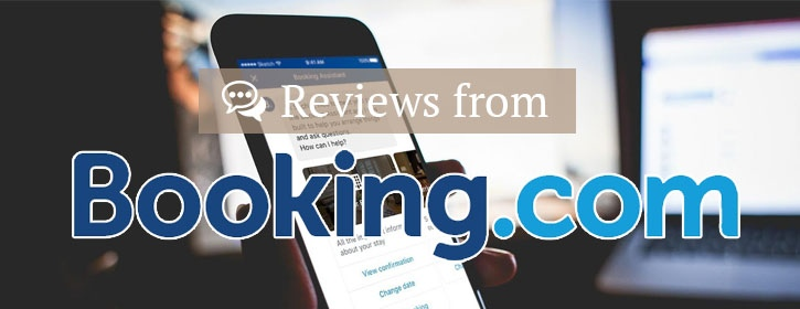 Reviews with BOOKING